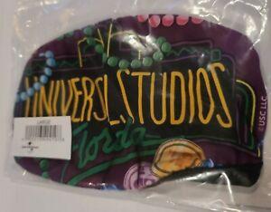 Universal Studios Mardi Gras Print Face Mask  Large