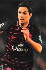 Foto de fútbol > Mikel Arteta Everton 2009-10
