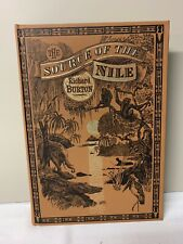 The Source of the Nile with Slipcase and Map by Richard Burton