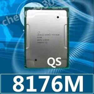 Intel Xeon Platinum 8176m QS 2.1ghz 28c 56thread LGA3647 165w CPU processor
