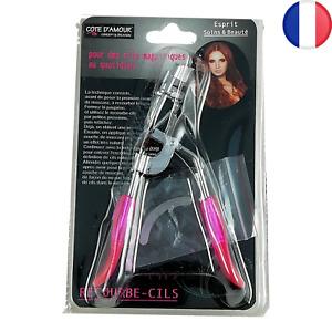 Pince Recourbe Cils Soin et Beauté pour Cil 10,5cm maquillage