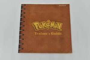 Pokemon Yellow Trainer's Guide Nintendo Gameboy GUIDE ONLY DMG-APSE-USA 1999