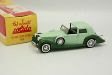 Solido Hachette 1/43 - Delage Bowl City 1938 Green