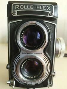 Rolleiflex Franke & Heidecke 3.5 Model T Camera - Very Good Condition