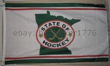 Minnesota Wild The State of Hockey NHL 3'x5' Flag Banner - USA seller shipper