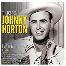 Johnny Horton Best Of 2-CD NEW SEALED The Battle Of