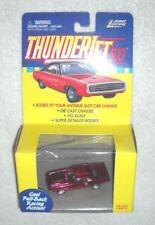 Johnny Lightning - Thunderjet 500 - Dodge Challenger (APPLE RED) - 100% (MOC)