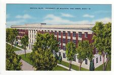 UNIVERSITY OF MICHIGAN PC Postcard ANN ARBOR UM Mich MEDICAL BUILDING Med School