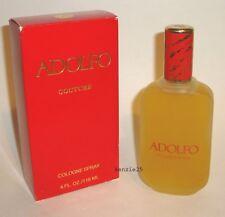 ADOLFO COUTURE PERFUME COLOGNE SPRAY BIG 118 ML / 4 FL OZ VINTAGE NIB