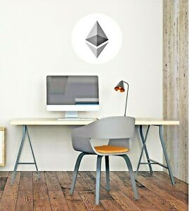 Etherium Wall Decal - Removable and Reusable