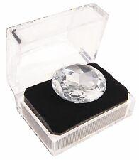 "JUMBO DIAMOND RING BACHELORETTE Party Gift Joke Big Fake Plastic Box 1.75"" Gag"