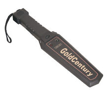 BLACK High Quality Portable HAND HELD METAL DETECTOR SICUREZZA DIVERTENTE (t330aa)