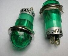 10,Green JEWEL PILOT INDICATOR LIGHT/SIGNAL LAMP 24V,teng