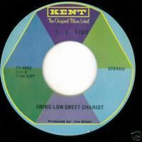 B.B. King Gospel 45 Precious Lord/Swing Low KENT   MINT