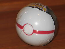 PREMIER Poke Ball Jakks B&W Black White Red Soft Foam Pokemon PokeBall Go NEW!