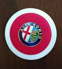FITS ALFA ROMEO TAX DISC HOLDER GT GIULIETTA SPIDER 147 156 159 SPARK MITO BRERA