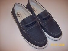 MENS G H BASS & Company Blue Denim Penny Loafers Size 9.5M Quest Penny