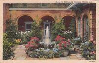 Postcard Scene Bellingrath Gardens Mobile AL
