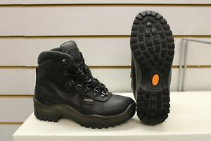 Grisport Timber Waxy Black Leather Waterproof Walking Trail Boots UK 4 EU 37