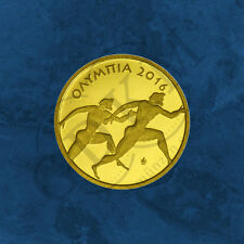 Griechenland - Olympia Kulturerbe - 50 Euro 2016 PP Gold