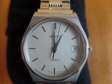 Mens 1980's Zenith 01.1670.226  watch stainless steel case needs repair/overhaul