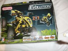 Complete Meccano Evolution 2 in 1 Set 205 Parts