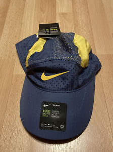 New Womens Nike Aerobill TailWind Running Hat CU7268-491