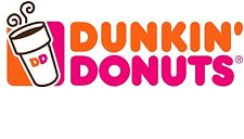 FOURTY 40 DUNKIN' DONUTS COUPONS ~ GET A DONUT W/ DRINK PURCHASE ~ NEVER EXPIRES
