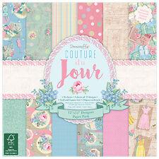 Dovecraft Papel 12x12 Pad-Couture du Jour-Cardmaking & Scrapbooking