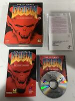 The Ultimate Doom Thy Flesh - PC CD-ROM - Big Box by id Software 1995 retro game