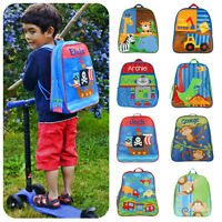 PERSONALISED Stephen Joseph Boys Backpack Rucksack Holiday +FREE Bag tag