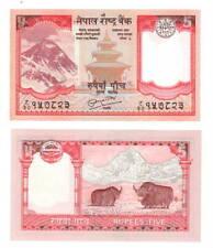 NEPAL 5 Rupees Banknote (2008) P-60 Paper Money UNC
