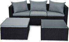Evre открытый ротанг садовая мебель комплект Малага зимний сад патио комплект мягкой мебели