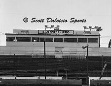ORIGINAL 1980'S ASCOT PARK PRESS BOX 8 X 10 PHOTO  RACING  SPRINT CARS
