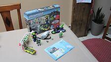 Playmobil Top Agents  5086,espions,robots,espace , space , vaisseau
