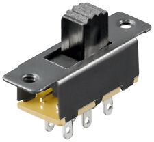 Schiebeschalter 6 Pins 2xUM; S 166