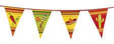 Guirlande de fanions FIESTA espagnol decoration bannière mexicain anniversaire