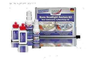Nano Scheinwerfer Aufbereitungs Kit Headlight Restore Reinigung Reparatur
