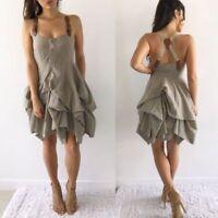 STUNNING ALL SAINTS NIGHTINGALE COTTON DRESS SIZE UK 12, US 8, GREAT CONDITION