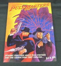 Pulp Masters (1996) 1st Edition Paperback by James Van Hise Unread Nice H907
