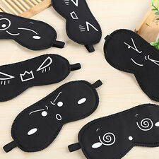Cute Sleeping Eye Mask Blindfold Sleep Travel Shade Relax CoverLight Blinder pre