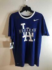 Nike Dry-Fit Los Angeles LA Dodgers Man Blue size Large