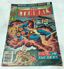 The ETERNALS #3 MARVEL 1976 BRONZE AGE Jack Kirby First Sersy Appearance.