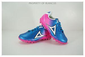 Pirma TODDLER Turf Soccer Cleats-Style 180-Blue/Pink-Supreme Mamba