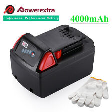 18V Extended RED Lithium XC 4.0 Battery for Milwaukee M18 48-11-1815 48-11-1840