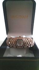 Ladies Waltham Quartz Watch - Rose gold tone with CZs  NIB