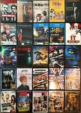 Lot of 25 Different Assorted Action, Horror, Drama, Syfy, Comedy DVDs