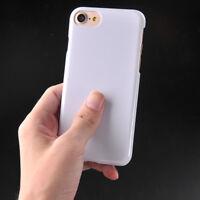 10pcs/lot 3D Heat Transfer Sublimation Case Cover For iphone X iphone 6/7/8P