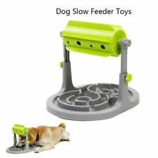 Dog Toy Food Treats Dispenser Slow Feeder Trainer Interactive IQ Training Toy