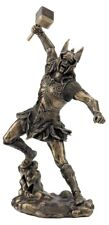 Thor God of Thunder Bronze Statue